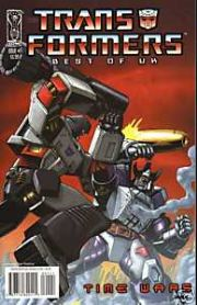 Transformers Comics Best Of The UK Time Wars